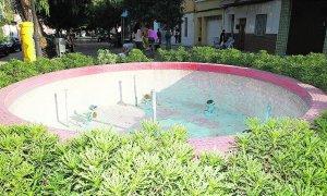 Fuente ornamental clausurada en Alcàsser como medida preventiva