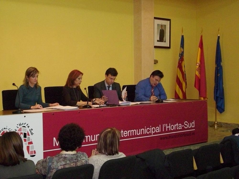 Pleno Mancomunitat 21 diciembre 2011