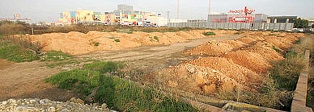 los terrenos donde Ikea pretende instalar su primera tienda en Valencia