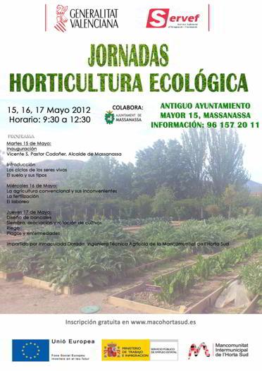 La empleabilidad de la agricultura ecológica en la Comarca de l'Horta Sud