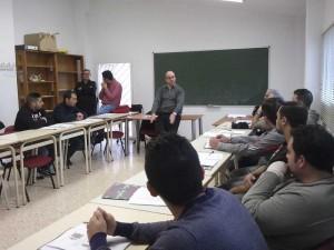 La AEDL de Alfafar y ADICAF imparten un nuevo curso de carretillero