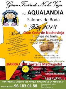 Despide el 2012 con la gran cena de nochevieja de - Salones aqualandia ...