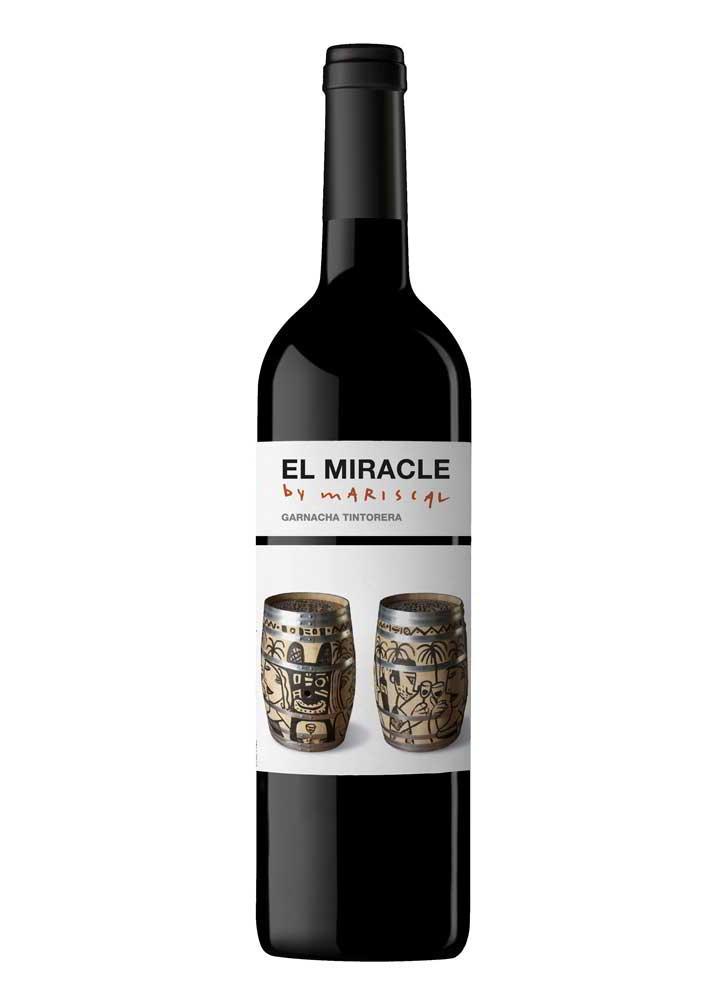 Javier Mariscal firma la etiqueta del nuevo Miracle de Bodegas Vicente Gandia