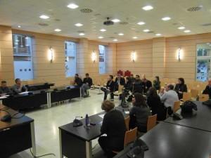 Reunión operativo policia Alfafar para Navidad 2012
