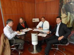 El Delegado del Consell, Rafael Soler, visitó Alfafar