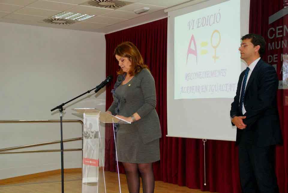 Alfafar en Igualtat imagen de archivo del año 2012
