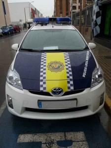 El nuevo vehículo híbrido de la Policía Local de Benetússer