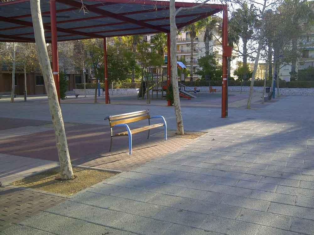 Nuevo Mobiliario Urbano en Alfafar