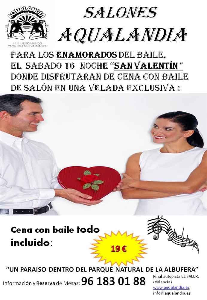 Cena san valent n en salones aqualandia diario local - Salones aqualandia ...