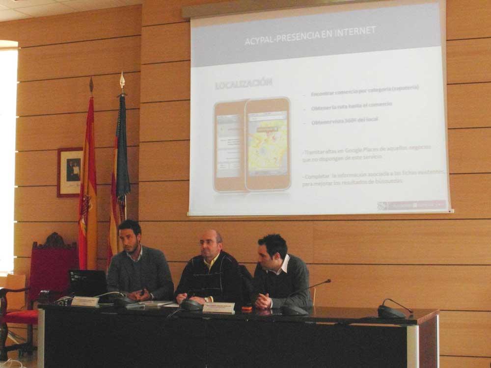 Proyecto de geolocalización del comercio Acypal en Alfafar