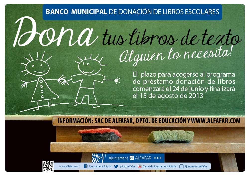 Banco Municipal de Donación de Libros Escolares