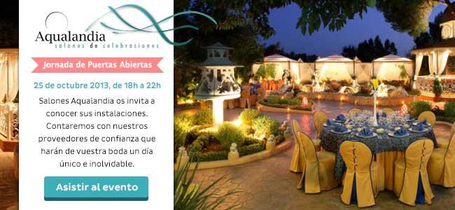 Jornada puertas abiertas en salones de bodas masia santarrita - Salones aqualandia valencia ...