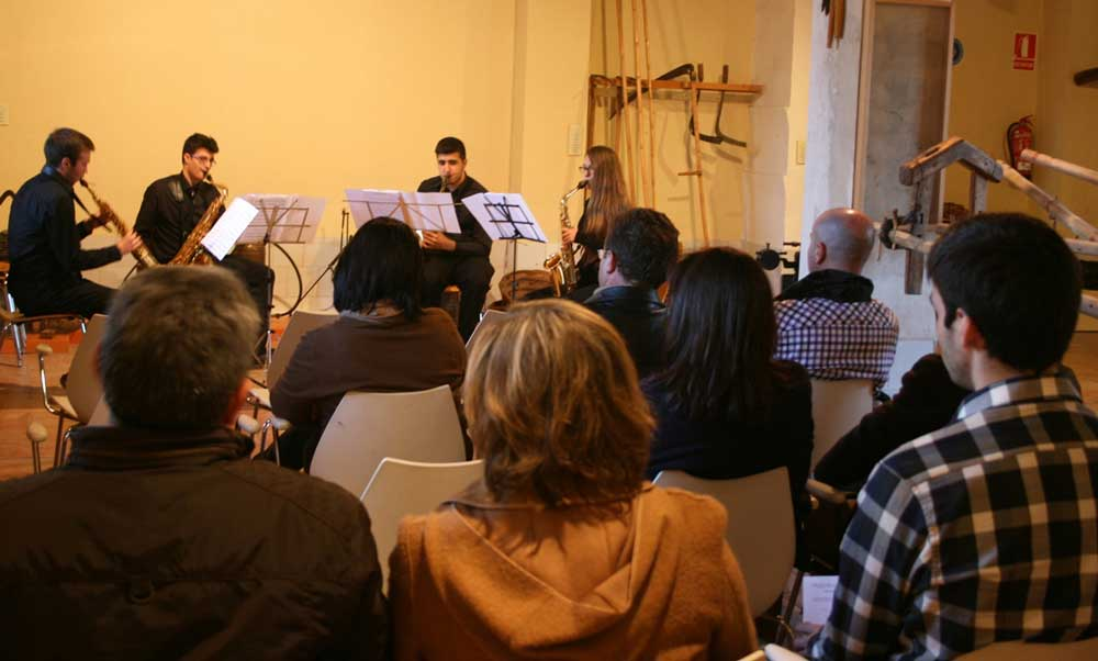 Concierto Música de Cámara en el Museu Comarcal
