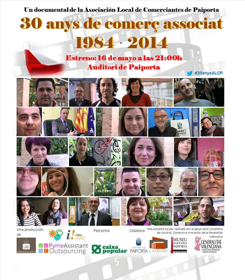 30 anys de comerç associat a Paiporta