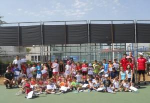 Fiesta de fin de curso del club de tenis sedaví