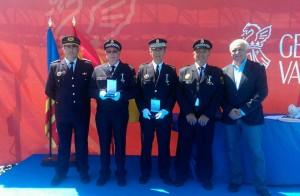 Condecoración policías de Almussafes