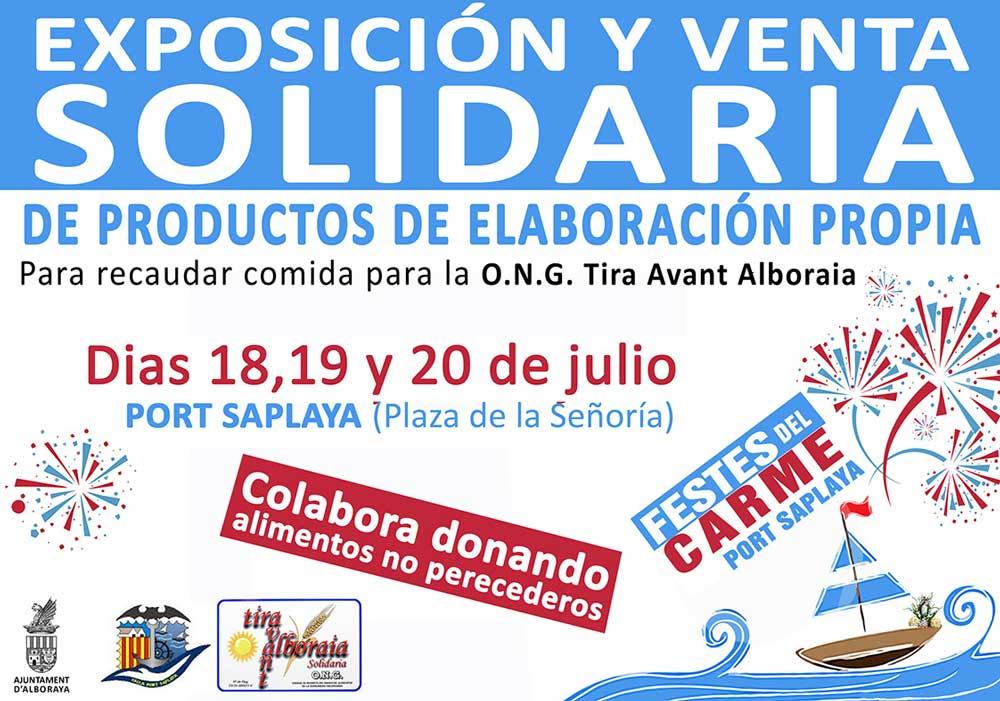 Alboraya organiza un mercado artesanal y solidario
