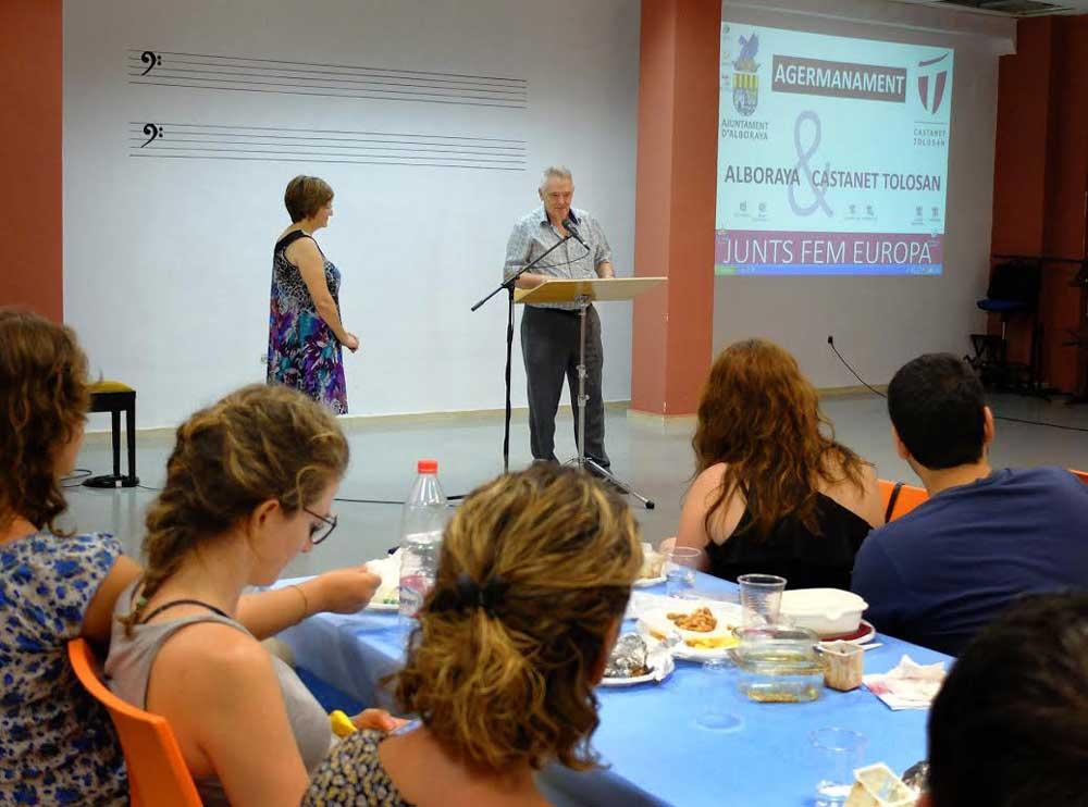 hermanamiento con Castanet-Tolosan y Charagua
