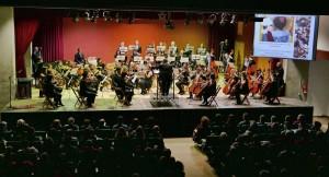 La Orquesta de Cuerda de la Sociedad Musical de Alboraya