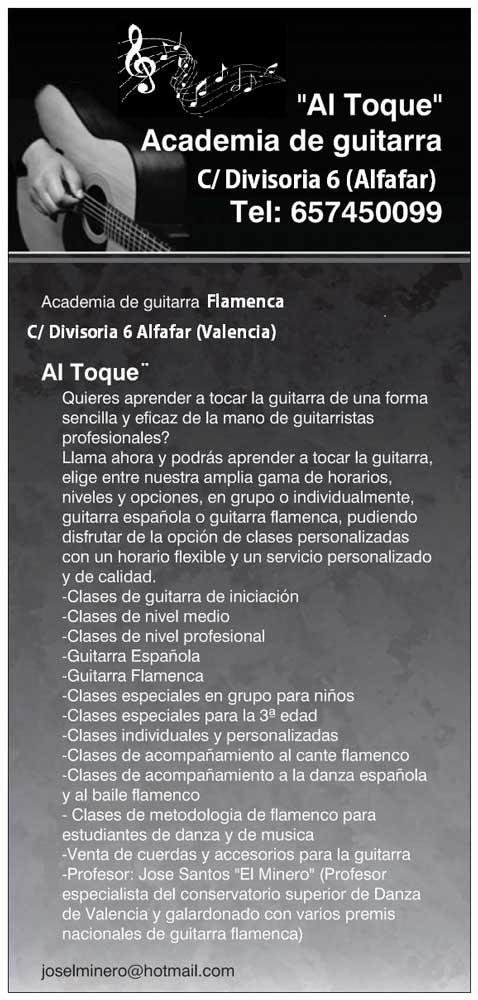 academia de guitarra flamenca