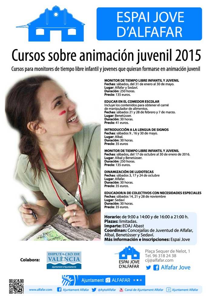 Cursos sobre Animación Juvenil