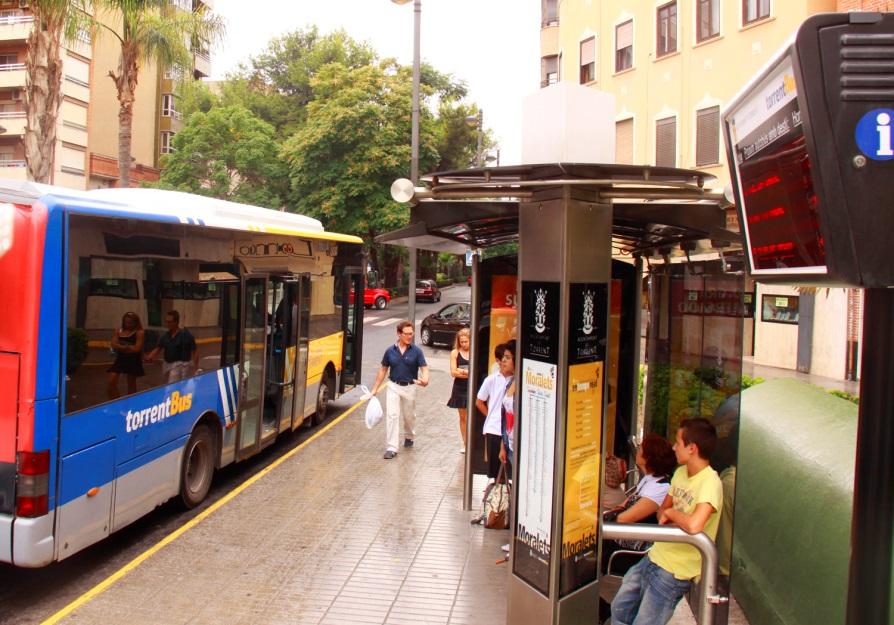 Torrent sigue apostando por el transporte público