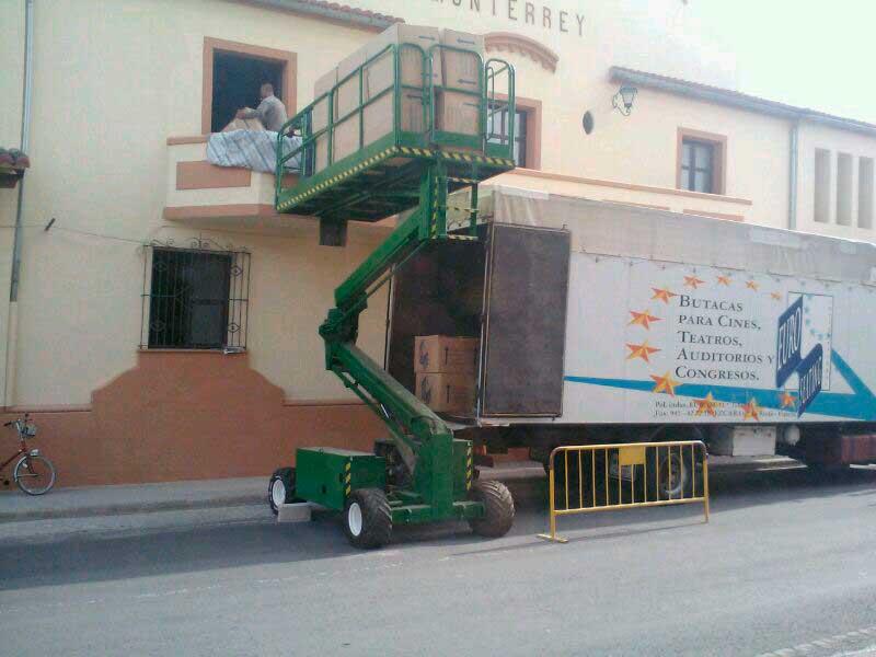 butacas del Teatro Monterrey
