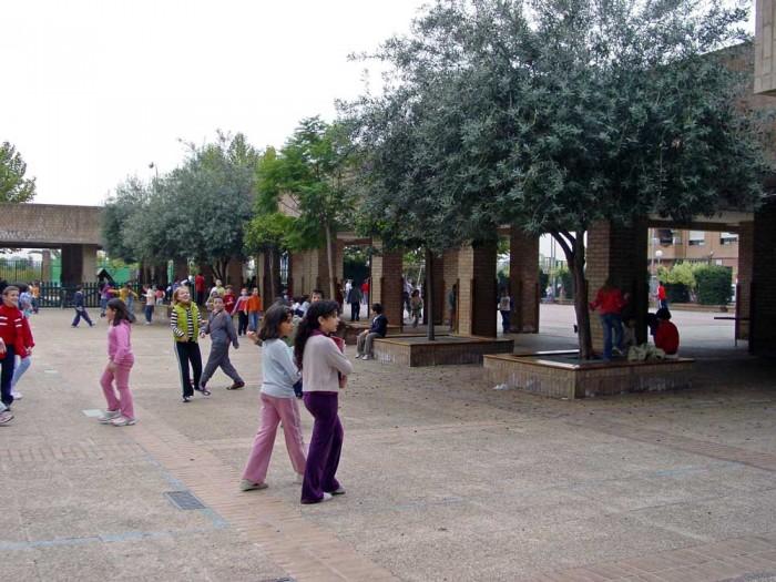 patio del colegio Pontet