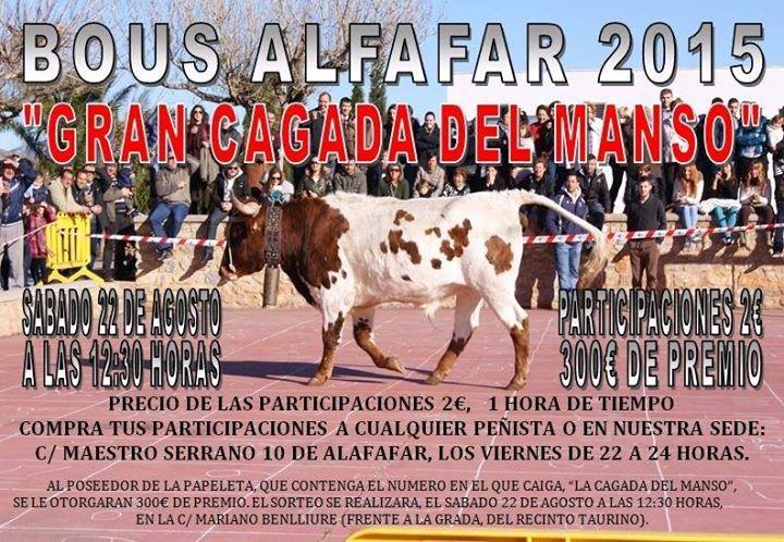 toros en la población de Alfafar