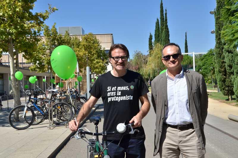 UPV ha celebrado el Día Europeo sin Coches