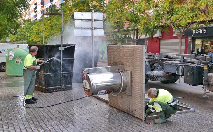 contenedores soterrados Alboraya