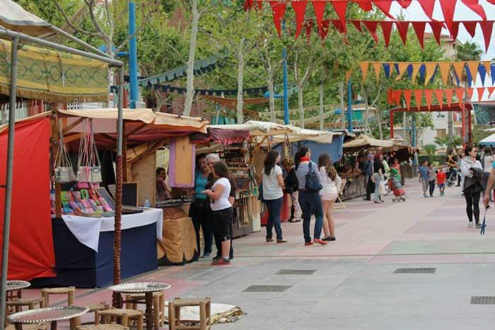 Feria Medieval en el barrio Orba