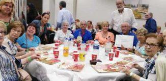 Los voluntarios sociales de mayores de Almussafes