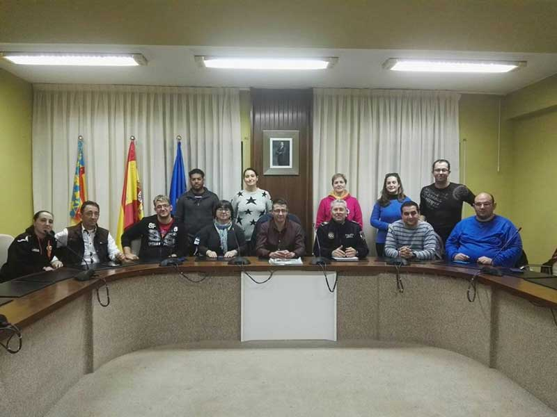 parque móvil de Protección Civil en Almussafes