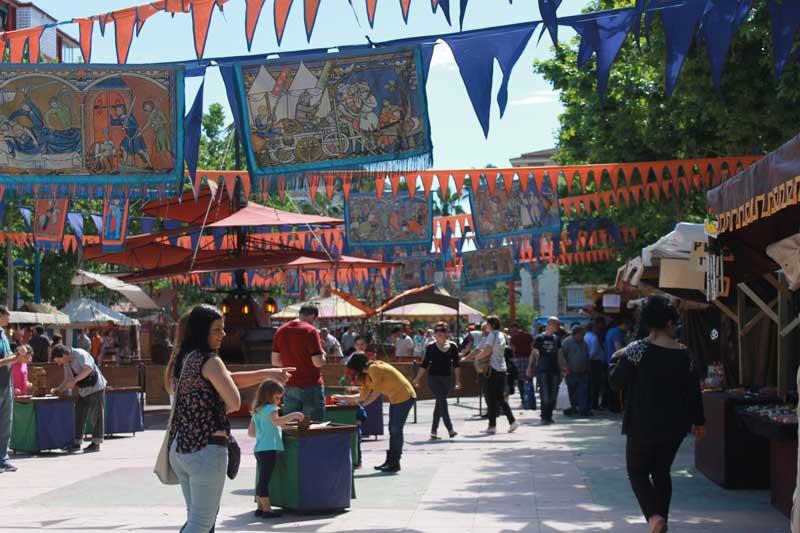 Feria Medieval del barrio Orba