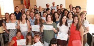 Entrega de diplomas ADL Alfafar
