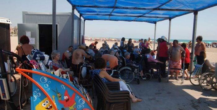 Playa Accesible de los Fans