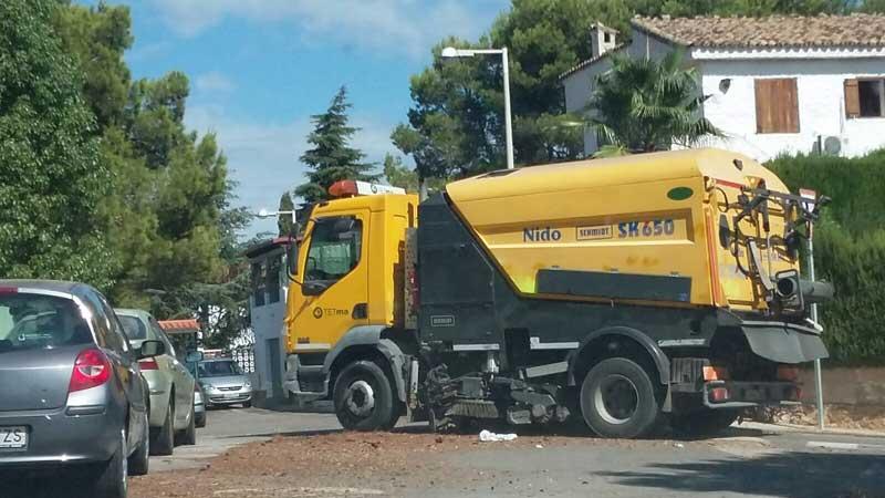 Vilamarxant limpieza urbanizaciones